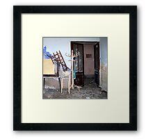 Another derelict house. Framed Print