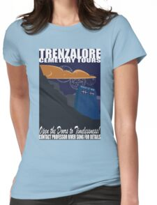 Trenzalore Cemetery Tours Womens Fitted T-Shirt