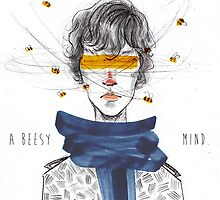 Sherlock's Beesy Mind by Voodooling