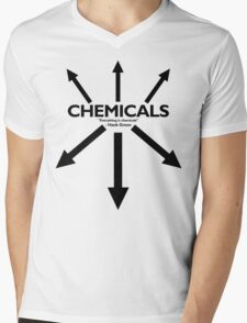 EVERYTHING IS CHEMICALS Mens V-Neck T-Shirt