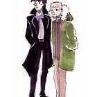 John and Sherlock by Voodooling