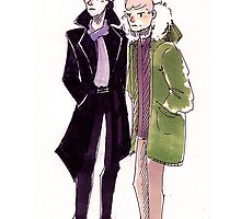John and Sherlock by Voodooling