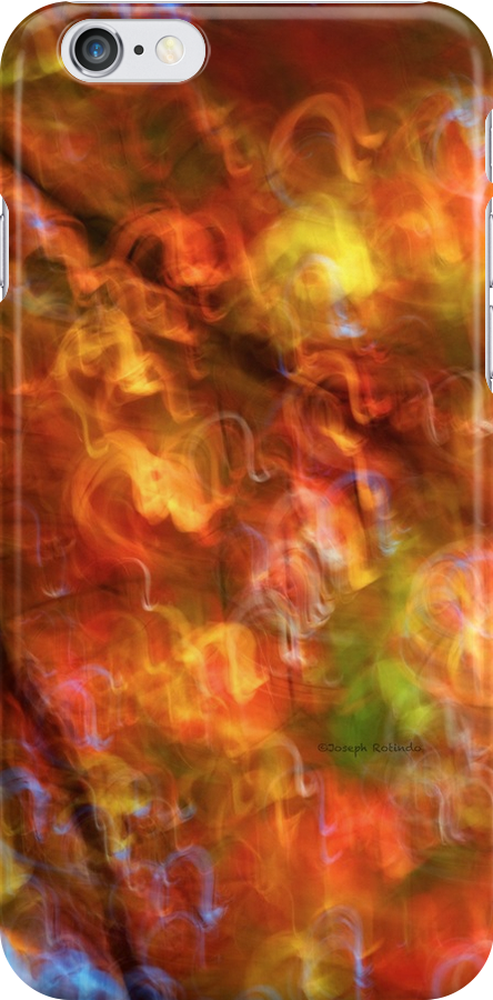 iPhone / iPod Case - Red descent by Joseph Rotindo