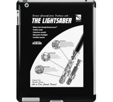 Star Wars Lightsaber Retro Ad iPad Case/Skin