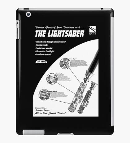 Star Wars Lightsaber Retro Ad iPad Case/Skin