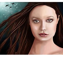 Summer Glau - The girl with the beautiful face Photographic Print