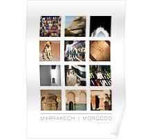 Marrakech, Morocco Poster Poster