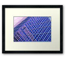 modernist reflection Framed Print