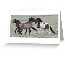 Getting Together Greeting Card