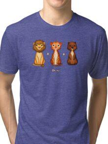 Lions & Tigers & Bears Tri-blend T-Shirt