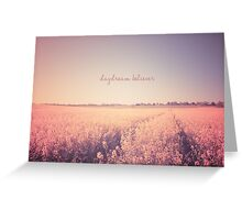 DayDream Believer Greeting Card