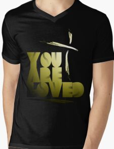 You Are Loved- Spotlight Mens V-Neck T-Shirt