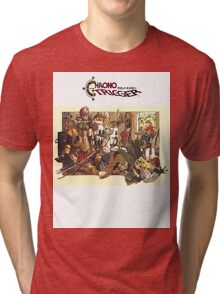 Chrono Trigger Family Tri-blend T-Shirt
