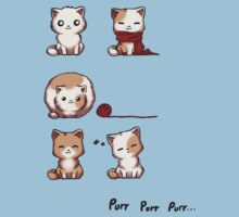 Soft Kitty One Piece - Short Sleeve