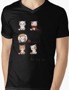 Soft Kitty Mens V-Neck T-Shirt