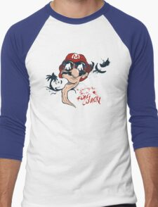 Fear and Loathing in the Mushroom Kingdom Men's Baseball ¾ T-Shirt