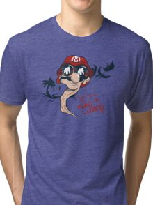 Fear and Loathing in the Mushroom Kingdom Tri-blend T-Shirt