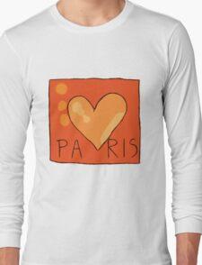 APH France Paris pajama's - hetalia Long Sleeve T-Shirt