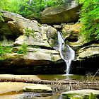 Cedar Falls, Hocking Hills, Ohio by WonderlandGlass