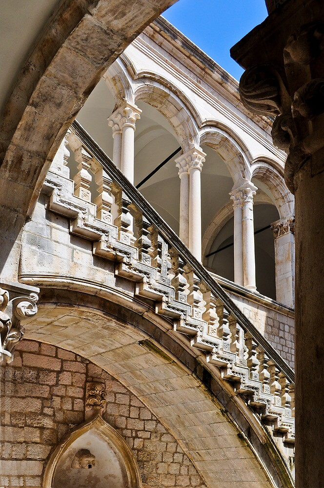 RECTOR'S PALACE DUBROVNIK CROATIA by Thomas Barker-Detwiler