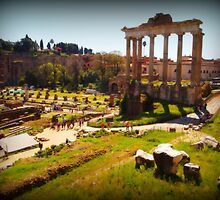 The Roman Forum by orsinico