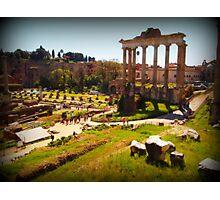 The Roman Forum Photographic Print