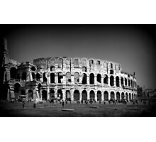 Rome, The Colosseum Photographic Print