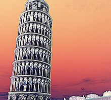 The Leaning Tower of Pisa by orsinico