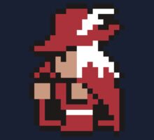 pixel red mage One Piece - Long Sleeve