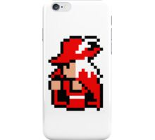 pixel red mage iPhone Case/Skin