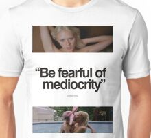 Mediocrity - GUMMO - WHITE OUT Unisex T-Shirt