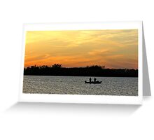 Gone Fishin' Greeting Card