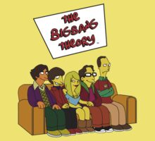 Big Bang Theory - Simpsons Style - With Text by CalumCJL