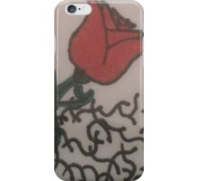 Rose in the midst of Thorns iPhone Case/Skin