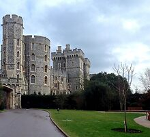 Windsor Castle - England by Kent Burton