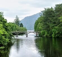 The bridge at Fort Augustus - Loch Ness, Scotland.......! by Roy  Massicks