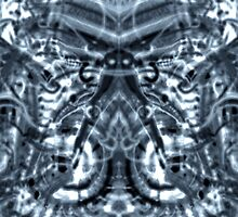 electrical butterfly abstract by Ronald Eschner