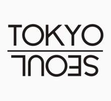 Tokyo / Seoul - Black by hunnydoll