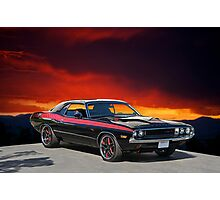 1970 Dodge Challenger R/T Photographic Print