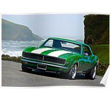 1968 Camaro Rally Sport Poster
