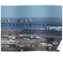 St. Lawrence River Montreal, Quebec Poster