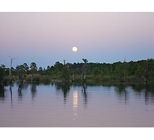 MOONRISE ON BEAR CREEK Photographic Print