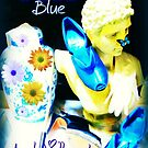 Classic Blue and Yellow by artqueene