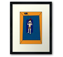 Lilos Are Cool Framed Print