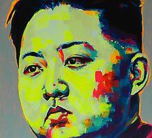 Kim Jong Un 1.0 by MissAnnaHall