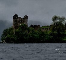 Urquhart ......Haunted Castle.....Loch Ness.....Scotland ! by Roy  Massicks