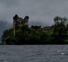 Urquhart ......Haunted Castle.....Loch Ness.....Scotland ! by Roy  Massicks