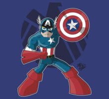 Captain America by DrewBird