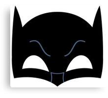 Super hero mask ( batman) Canvas Print