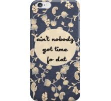 I Got Bronchitis! iPhone Case/Skin
